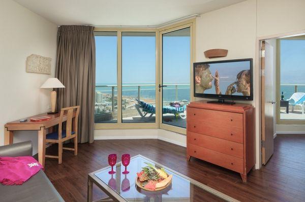 спа отель Леонардо Плаза в Мертвое море - Свита Deluxe