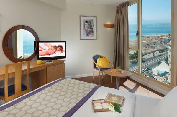 отель спа в Мертвое море - Номер Superior Pool view