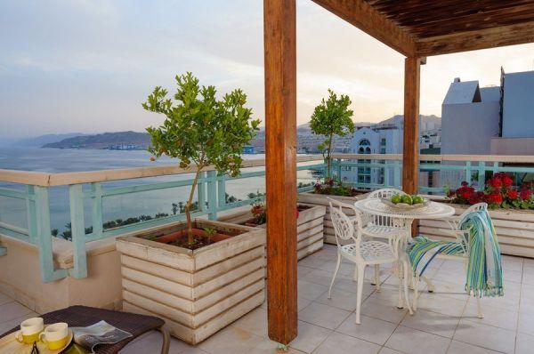 מלון יוקרה הרודס פאלאס באילת - סוויטה קלאב  קאסל