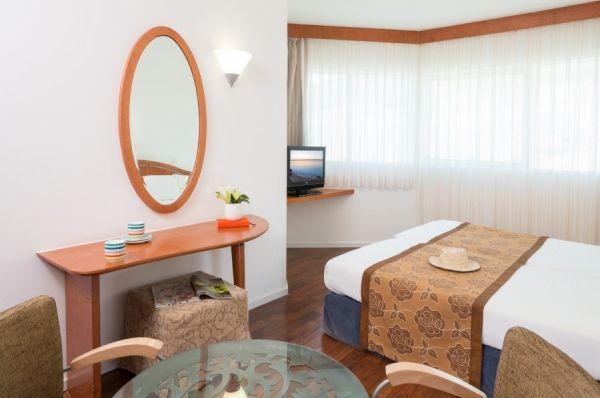 Леонардо Клаб гостиница все включено Мертвое море - Свита с 2 раздельными спальнями