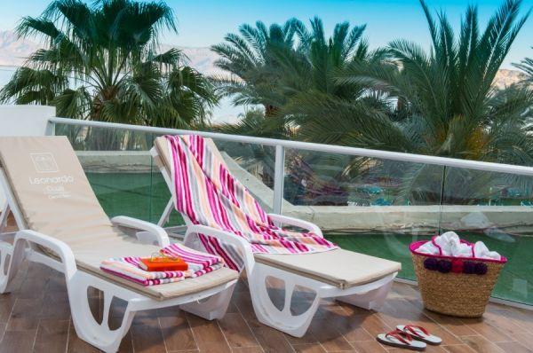 בית מלון הכל כלול לאונרדו קלאב בים המלח