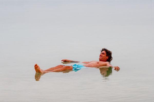 малон  Херодс в  Мертвое море