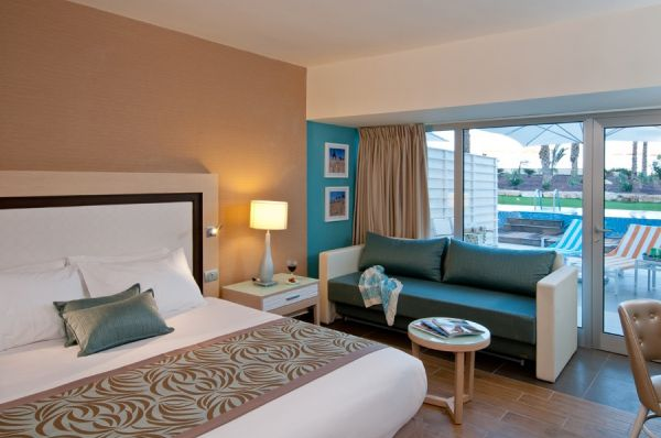 בית מלון הרודס - חדר אקסקיוטיב גן משפחה עם בריכה