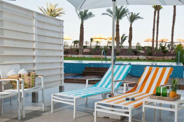 בית מלון הרודס ב ים המלח - חדר אקסקיוטיב גן משפחה עם בריכה