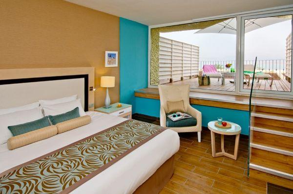 בית מלון ים המלח הרודס - חדר אקסקיוטיב שמש