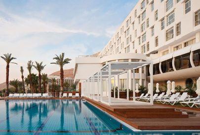 בית מלון ישרוטל גנים ב ים המלח