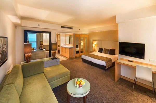 отель Исротель Ганим Мертвое море - Семейный номер с видом на море