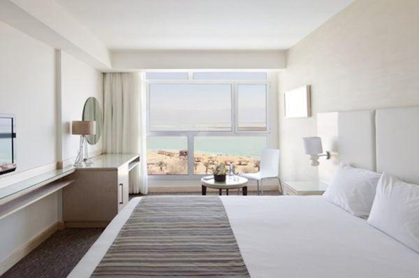 בית מלון ישרוטל גנים ים המלח - חדר נוף לים