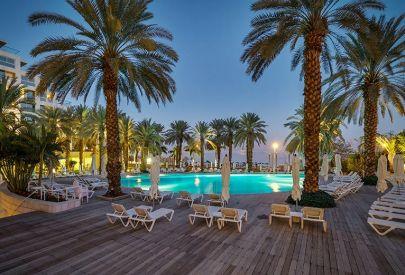 בית מלון יוקרתי ישרוטל  בים המלח