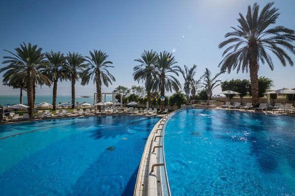 отель люкс Исротель 5 звезд Мертвое море