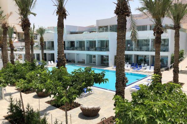 בית מלון מילוס ב ים המלח