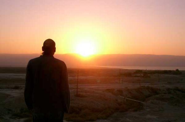 отдых на природе  Альмог в Мертвое море