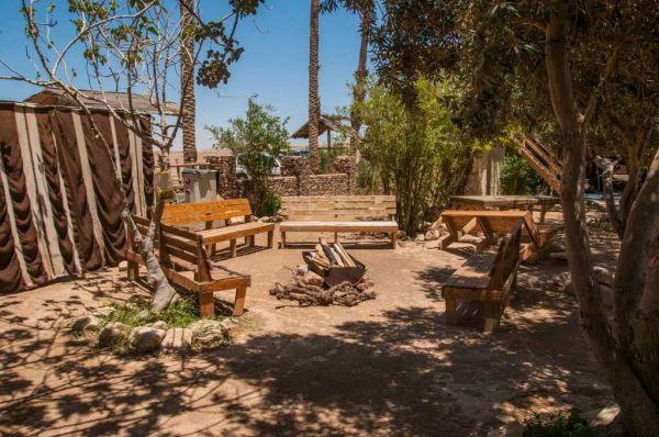 כפר הנוקדים אירוח כפרי ים המלח