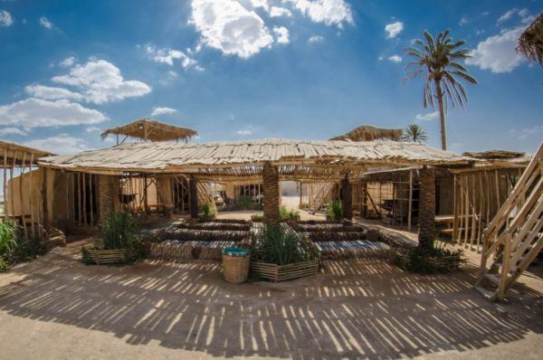 בית הארחה כפר הנוקדים בים המלח