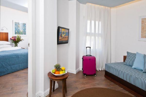 מלון יו קורל ביץי קלאב הכל כלול אילת - חדר U ג'וניור משפחה