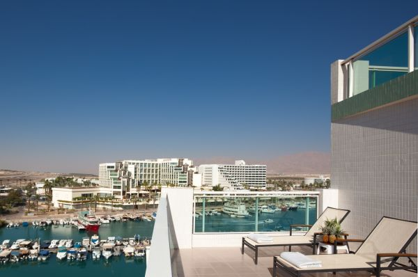отель Дан Панорама Эйлат - комната с террасой