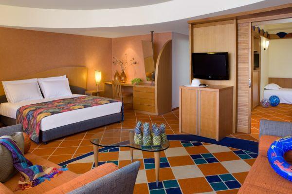 מלון דה לוקס דן באילת - חדר משפחה