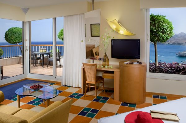 מלון דה לוקס דן באילת - חדר טראסה