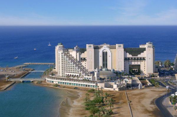 Отель люкс  Херодс Палас в Эйлат