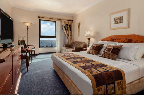 Гостиница  5 звезд  Малкат Шва Эйлат - Номер Делюкс с видом на море