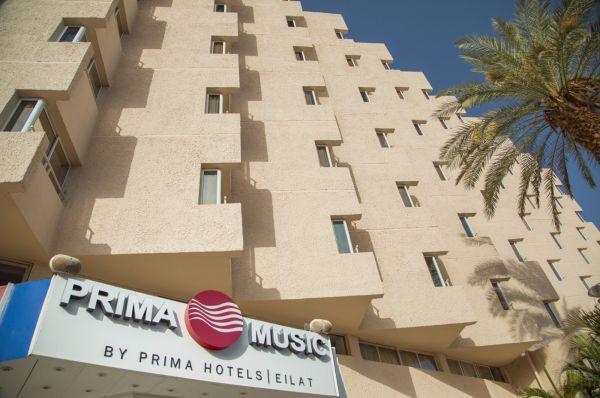 בית מלון אילת פרימה מיוזיק