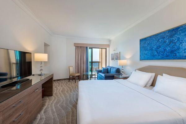 отель в  Эйлат Малкат Шва - Номер Делюкс с видом на море