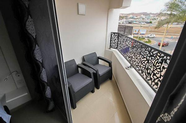 гостиница в  Эйлат Рич Роял Свит - Номер Студия Кинг с балконом