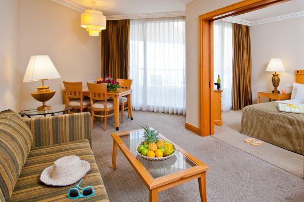 בית מלון יו סוויטס באילת - סוויטה דלוקס