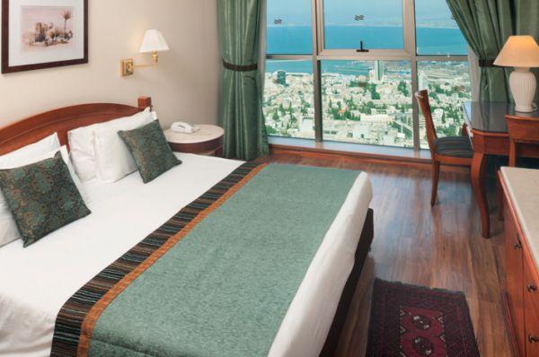 отель в  Хайфа Краун Плаза - Номер Делюкс