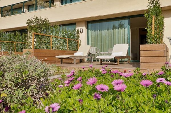 מלון 5 כוכבים יערות הכרמל חיפה - חדר גן