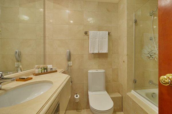 מלון דה לוקס יערות הכרמל חיפה - חדר גן