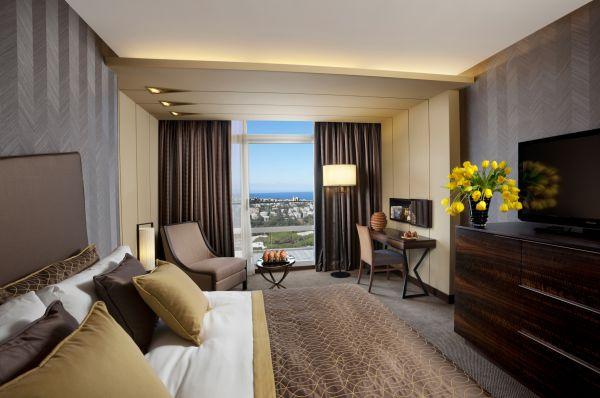 люкс отель Дан Кармель - Делюкс с видом на Кармель