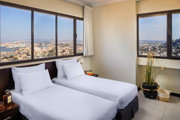 בית מלון חיפה מרקט