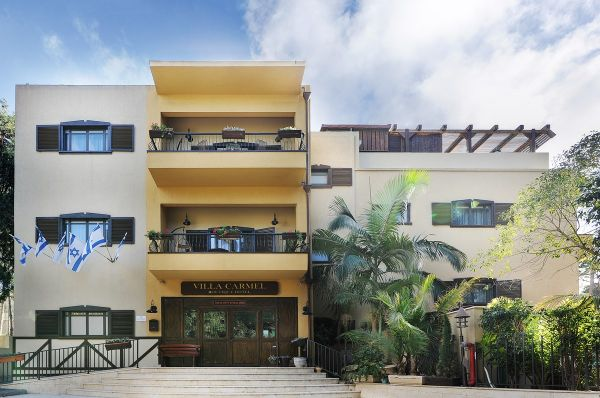 בית מלון וילה כרמל חיפה