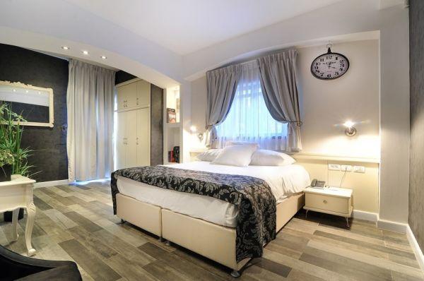 בית מלון וילה כרמל ב חיפה - דלקס עם מרפסת