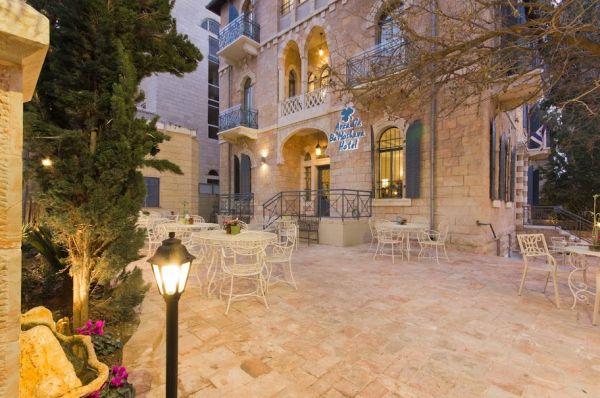 מלון בוטיק ארקדיה במושבה בירושלים