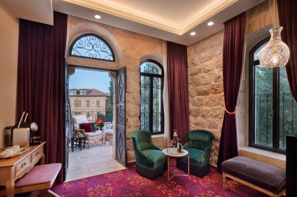 ירושלים וילה בראון מלון בוטיק