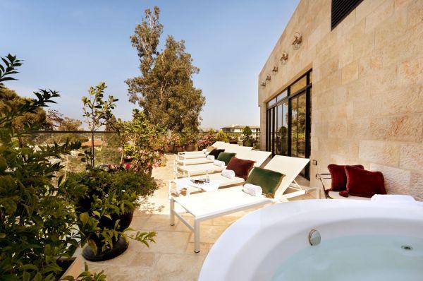 Вилла Браун бутик отель в Иерусалим и Иудея