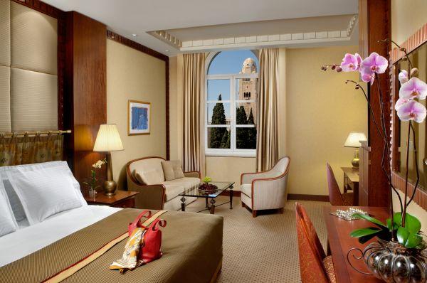 בית מלון יוקרתי המלך דוד בירושלים - דלקס עיר החדשה קומות 1-4