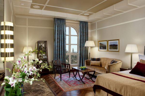 отель люкс  Кинг Давид Иерусалим и Иудея - Делюкс с видом на Старый город этаж 5-6