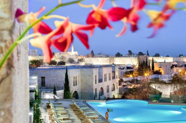 בית מלון יוקרתי מצודת דוד בירושלים