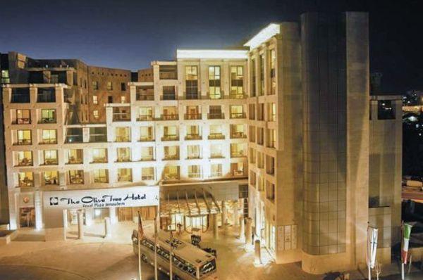 гостиница Олив Три Иерусалим и Иудея