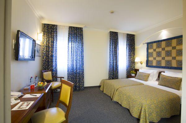 בית מלון ירושלים פרימה פאלאס - חדר דלאקס