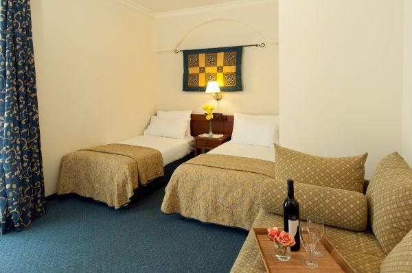 בית מלון פרימה פאלאס ב ירושלים - חדר דלאקס