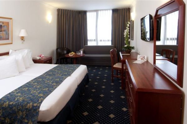 בית מלון רמדה בירושלים - חדר משפחה