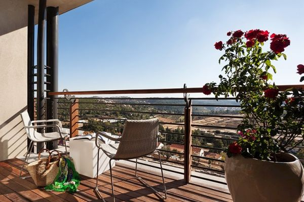 ישרוטל כרמים מלון ספא ירושלים - כרמים נוף הרים