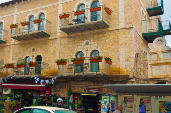 בית מלון ירושלים חצר השוק