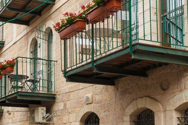 בית מלון חצר השוק ב ירושלים