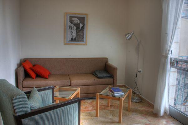 בית מלון חצר השוק ב ירושלים - דירות חדר שינה וסלון