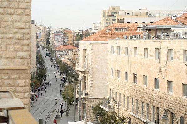 בית מלון פוסט ב ירושלים